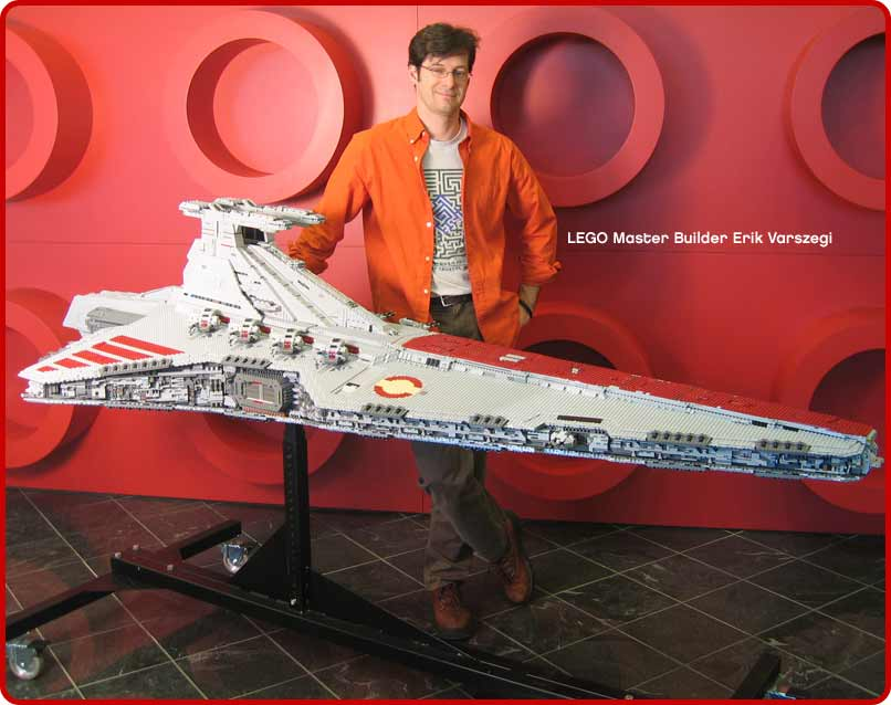 8ft long Lego Starcruiser!